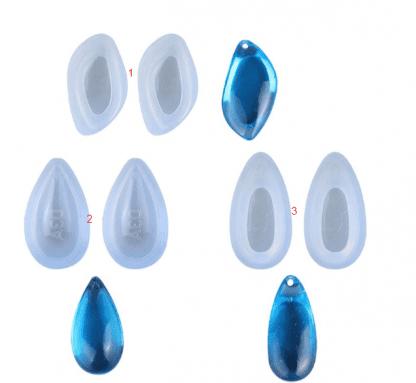 силиконовые молды серьги