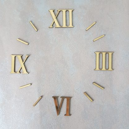 цифры для часов римские